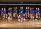 Fruita Monument Wildcats Girls Varsity Volleyball Fall 17-18 team photo.