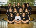 Gideon Bulldogs Girls Varsity Volleyball Fall 17-18 team photo.