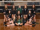 Woodland Beavers Girls Varsity Volleyball Fall 17-18 team photo.