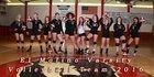 El Molino Lions Girls Varsity Volleyball Fall 17-18 team photo.