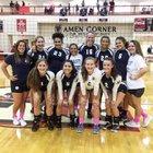 East Jackson Eagles Girls Varsity Volleyball Fall 17-18 team photo.