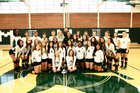 Maloney Spartans Girls Varsity Volleyball Fall 17-18 team photo.