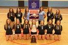 North Iredell Raiders Girls Varsity Volleyball Fall 17-18 team photo.