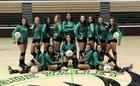 Pojoaque Valley Elks/Elkettes Girls Varsity Volleyball Fall 17-18 team photo.