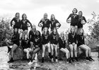 Wauwatosa West Trojans Girls Varsity Volleyball Fall 17-18 team photo.