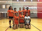 Little Village Phoenix Girls Varsity Volleyball Fall 17-18 team photo.