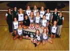 D.C. Everest Evergreens Girls Varsity Volleyball Fall 17-18 team photo.