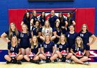 South Dearborn Knights Girls Varsity Volleyball Fall 17-18 team photo.