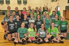 Cloverleaf Colts Girls Varsity Volleyball Fall 17-18 team photo.