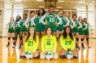 Windsor Forest Knights Girls Varsity Volleyball Fall 17-18 team photo.