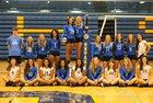 Ontario Warriors Girls Varsity Volleyball Fall 17-18 team photo.