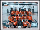 East Lincoln Mustangs Girls Varsity Volleyball Fall 17-18 team photo.