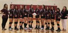 Tularosa Wildcats Girls Varsity Volleyball Fall 17-18 team photo.
