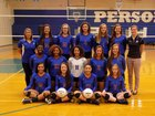 Person Rockets Girls Varsity Volleyball Fall 17-18 team photo.