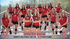 Arbor View Aggies Girls Varsity Volleyball Fall 17-18 team photo.