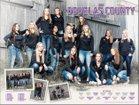 Douglas County Huskies Girls Varsity Volleyball Fall 17-18 team photo.