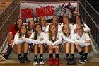 Roxboro Community Bulldogs Girls Varsity Volleyball Fall 17-18 team photo.