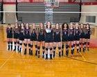 Beekmantown Eagles Girls Varsity Volleyball Fall 17-18 team photo.
