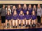West County Bulldogs Girls Varsity Volleyball Fall 17-18 team photo.