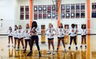 Southern Lee Cavaliers Girls Varsity Volleyball Fall 17-18 team photo.