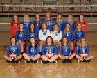 Marion Patriots Girls Varsity Volleyball Fall 17-18 team photo.