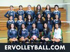 Eagle Rock Eagles Girls Varsity Volleyball Fall 17-18 team photo.