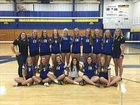 Mukwonago Indians Girls Varsity Volleyball Fall 17-18 team photo.