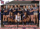 Indian Valley Braves Girls Varsity Volleyball Fall 17-18 team photo.