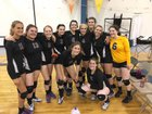 Susitna Valley Rams Girls Varsity Volleyball Fall 17-18 team photo.