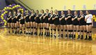 Corinth Holders Pirates Girls Varsity Volleyball Fall 17-18 team photo.