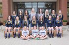 Archbold Blue Streaks Girls Varsity Volleyball Fall 17-18 team photo.