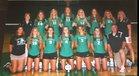 New Castle Trojans Girls Varsity Volleyball Fall 17-18 team photo.