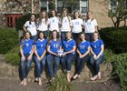 Catholic Central Hilltoppers Girls Varsity Volleyball Fall 17-18 team photo.