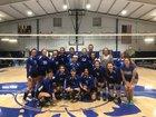 Cotter Warriors Girls Varsity Volleyball Fall 17-18 team photo.