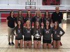 Johnstown-Monroe Johnnies Girls Varsity Volleyball Fall 17-18 team photo.