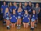 Washington Bluejays Girls Varsity Volleyball Fall 17-18 team photo.