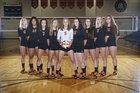 Strasburg-Franklin Tigers Girls Varsity Volleyball Fall 17-18 team photo.