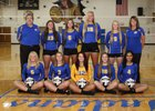 Southern Indians Girls Varsity Volleyball Fall 17-18 team photo.