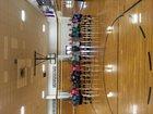 Scottsburg Warriors Girls Varsity Volleyball Fall 17-18 team photo.