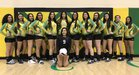 Pecos Panthers Girls Varsity Volleyball Fall 17-18 team photo.