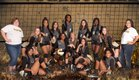 Hobbs Eagles Girls Varsity Volleyball Fall 17-18 team photo.