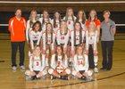 Lewis-Palmer Rangers Girls Varsity Volleyball Fall 17-18 team photo.