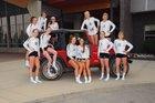 Freeman Scotties Girls Varsity Volleyball Fall 17-18 team photo.
