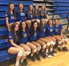 Olentangy Liberty Patriots Girls Varsity Volleyball Fall 17-18 team photo.