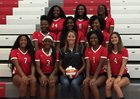 Westwood Redhawks Girls Varsity Volleyball Fall 17-18 team photo.