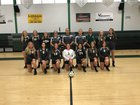 Raritan Rockets Girls Varsity Volleyball Fall 17-18 team photo.