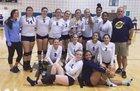 Land O' Lakes Gators Girls Varsity Volleyball Fall 17-18 team photo.