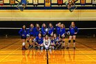 Tonasket Tigers Girls Varsity Volleyball Fall 17-18 team photo.