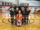 Gary Bobcats Girls Varsity Volleyball Fall 17-18 team photo.