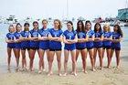 Milken Wildcats Girls Varsity Volleyball Fall 17-18 team photo.